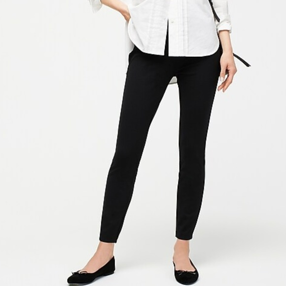 J. Crew Pants - J. Crew Any day pant in stretch ponte - sz 6